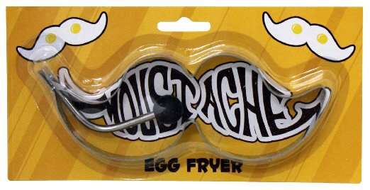 Picture of moustache shaped egg fryer
